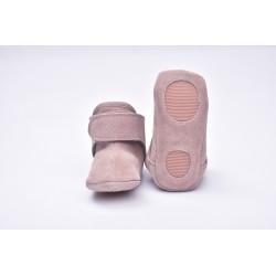 Lodger Walker Leather Pink 12-15m