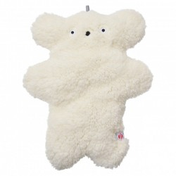 Lodger Fuzzy pluche toy big Off White