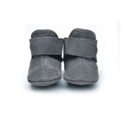 Lodger Walker Leather Dark Grey