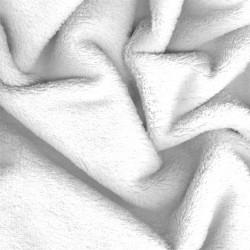 Aesthetic prostěradlo do kočárku zimní mikroplyš 32x75 cm 300 - bílá
