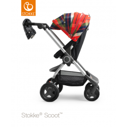 Stokke Scoot zimní sada Flannel Red