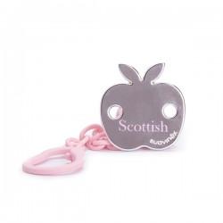 Savinex klip na šídítko Scottish Růžová jablko