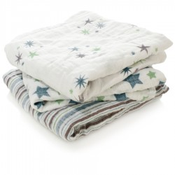 Aden + Anais Musy Muslin Squares 3-pack
