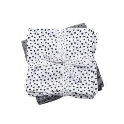 Done by Deer swaddle 2-pack Contour 120x120cm