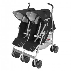 Maclaren Twin Techno Black/Silver