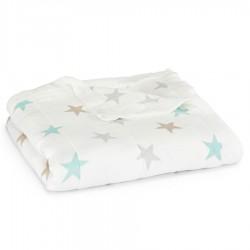Aden + Anais mušelínová deka Silky Soft 120x120 cm