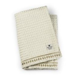 Elodie Details wafl bavlněná deka Vanilla White