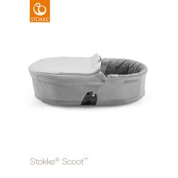 Stokke Scoot Carry Cot Grey Melange