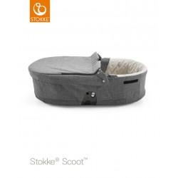 Stokke Scoot hluboké lůžko Black Melange