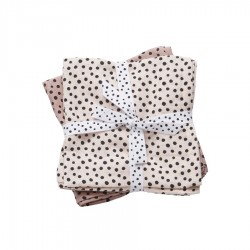 Done by Deer burp cloth 2-pack 70x70cm