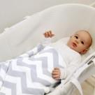 Shnuggle Luxury Knitted Blanket 70x90 cm