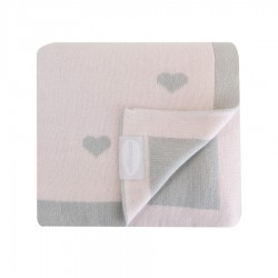 Shnuggle Luxury Knitted Blanket 70x90 cm Pink