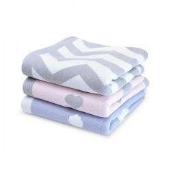 Shnuggle luxusní pletená deka 70x90 cm