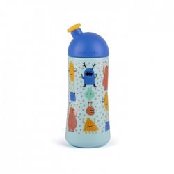 Suavinex láhev BOOO sportovní pítko 360ml Modrá