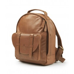 Elodie Details Back Pack Mini Leather Chestnut Leather