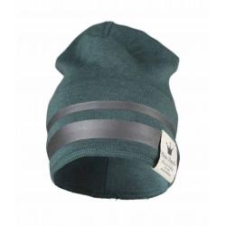 Elodie Details zimní bavlněná čepice stříbrný pruh
