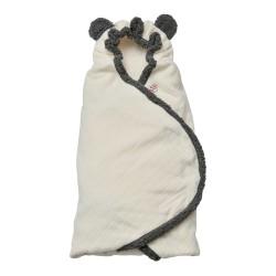 Lodger Wrapper Newborn Cotton Off White