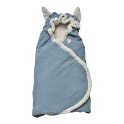 Lodger Wrapper Newborn Cotton Ocean