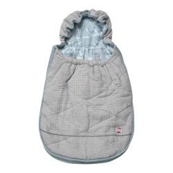 Lodger Mini Bunker Flannel/Honeycomb Steel Grey