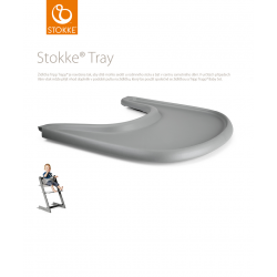 Stokke Tray Storm Grey