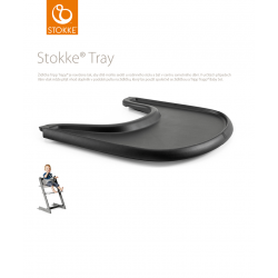 Stokke Tray Black