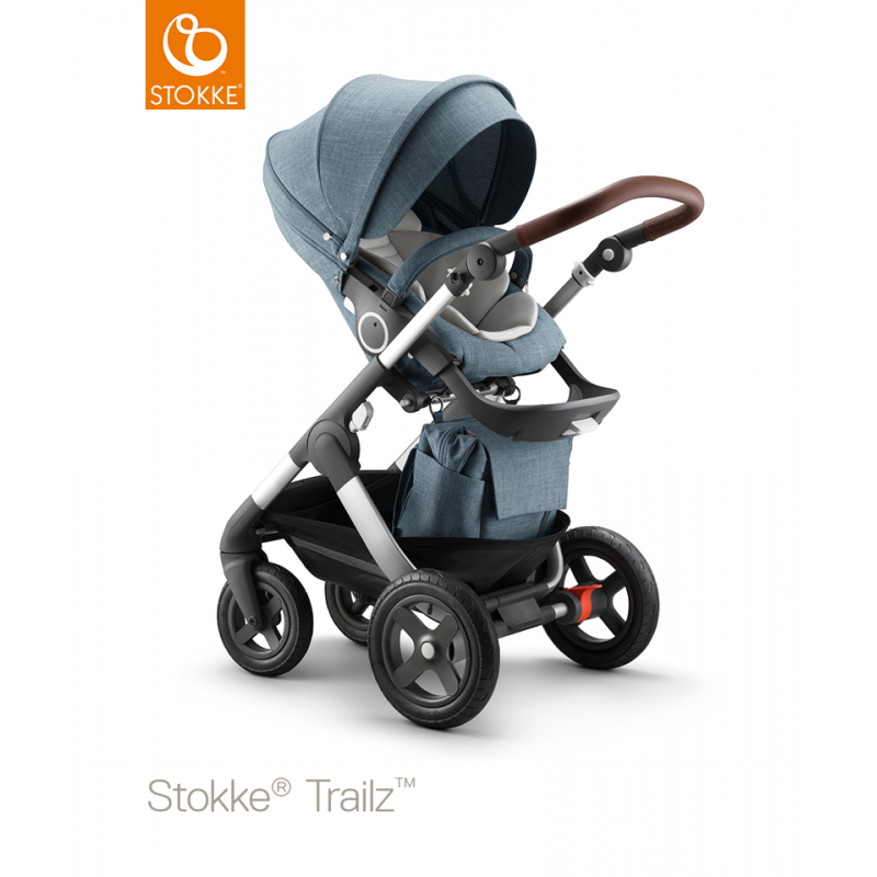 stokke trailz nordic blue complete set. Black Bedroom Furniture Sets. Home Design Ideas