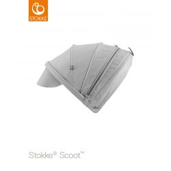 Stokke Scoot sluneční stříška Grey Melange