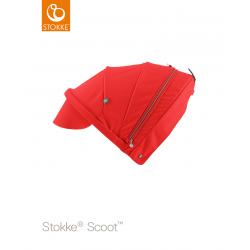 Stokke Scoot sluneční stříška Red