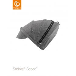 Stokke Scoot sluneční stříška Black Melange
