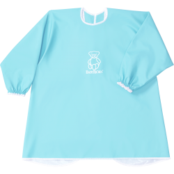 BabyBjörn Eat and Play Smock Turquoise