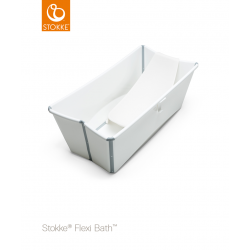 Stokke Flexi Bath + Flexi Bath Support White