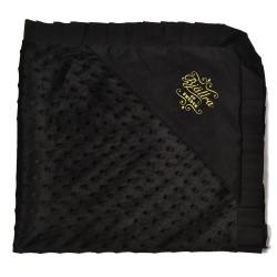Bjällra of Sweden deka 83x76 cm Midnight Black