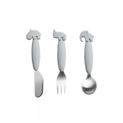 Done by Deer Yummy+ Easy Grip Cutlery Set