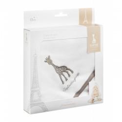 Vulli Osuška s kapucí žirafa Sophie 75 x 75 cm