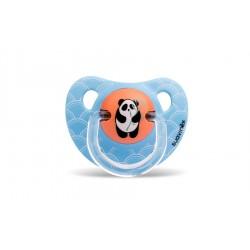 Suavinex dudlík anatomický latex 0-6m Modrá panda