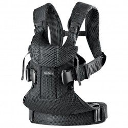 BabyBjörn carrier One 3D Mesh Black