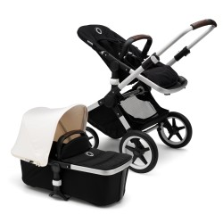 Bugaboo Fox komplet Alu/Black/Fresh White