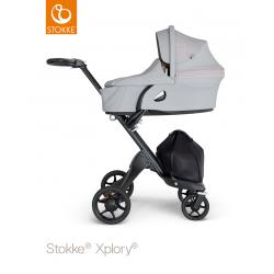 Stokke Xplory carrycot 2019 Grey Melange