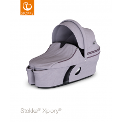 Stokke Xplory hluboké lůžko 2018 Brushed Lilac