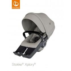 Sportovní sedačka Stokke Xplory & Trailz 2018 Brushed Grey