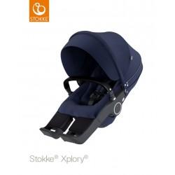 Sportovní sedačka Stokke Xplory & Trailz 2018 Deep Blue