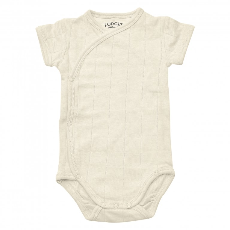 Lodger Body Romper Fold Over Solid Ivory