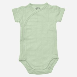 Lodger Body Romper Fold Over Botanimal Ocean
