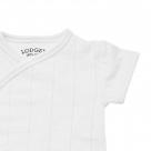 Lodger Body Romper Fold Over Solid White