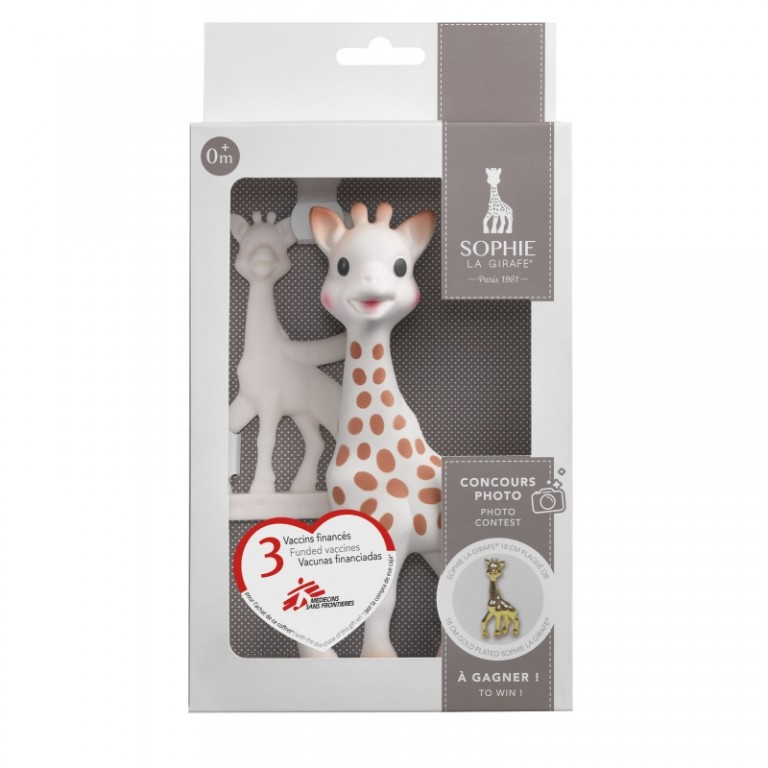 Sophie la girafe® + teething ring