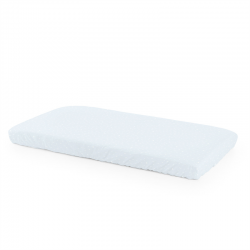 Stokke Home Bed Fitted Sheet 132x70 cm Blue Sea