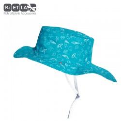 Kietla klobouček oboustranný s UV ochranou 12-18 měsíců Swimming Pool