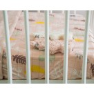 Lodger Slumber Fitted Baby Sheet Botanimal 70x140cm