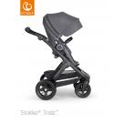 Stokke Trailz chassis with Terrain Wheels Black