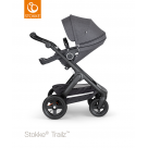Stokke Trailz chassis with Terrain Wheels Black